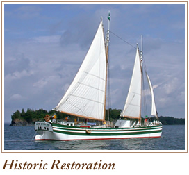 currier forest products ship restoration